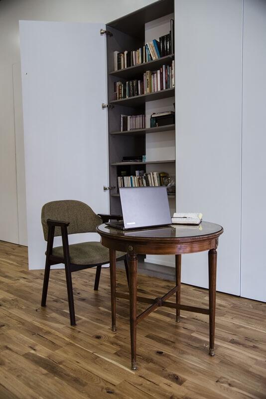 Oficina espacio invisiblle